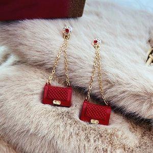 Jewelry - Luxury bag earrings